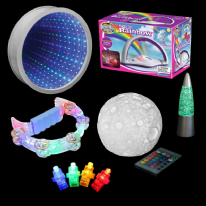 6 Piece Light up Sensory starter set